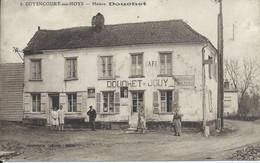 """Guyencourt Sur Noye : Café """"Douchet - Jouy"""" Gros Plan. Pub Menier. - Sonstige Gemeinden"""