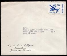 Argentina - 1973 - Lettre - Courrier Aérien - Amigos Del Museo De Arte Español - A1RR2 - Cartas