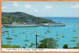 Charlotte Amalie St Thomas U.S. Virgin Islands Old Postcard Mailed - Jungferninseln, Amerik.