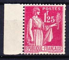 FRANCE TYPE PAIX 1937-39 YT N° 370 ** - 1932-39 Vrede