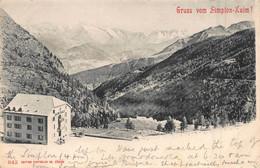 SIMPLON KULM SWITZERLAND~1902 POSTCARD 50379 - GE Ginevra