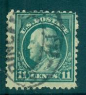 USA 1917-19 Sc#511 11c Light Green Franklin Perf 11 No Wmk FU Lot69229 - Unclassified