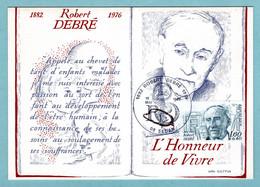 Carte Maximum 1982 - Personnages Célèbres - Robert Debré - YT 2228 - 08 Sedan - 1980-89