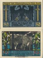Schwarzburg Notgeld: 1208.2 Notgeldscheine The City Schwarzburg/Thuringia Uncirculated 1922 50 Pfennig Picture 1 - Andere