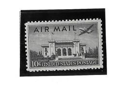 USA=1947  Air Post  Stamps  Pan American Union Building  Scot# C-34 - Zonder Classificatie