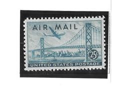 USA=1947  Air Post  Stamps  San Francisco-o Bay Bridge  Scot# C-36 - Zonder Classificatie