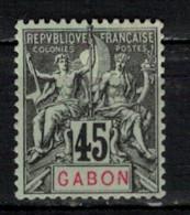 GABON       N°  YVERT  27   NEUF AVEC CHARNIERES      (CHAR   01/41 ) - Unused Stamps