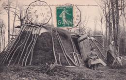 """VERVINS """" Foret Du Val St Pierre , Habitation De Bucherons ( RARE )   """"    N°6081 - Vervins"""