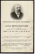 Photo, Image , Post Mortem-  Rare ~LOUIS BONAVENTURE, Industriel Et Commerçant à FLERS 1927 - Religione & Esoterismo