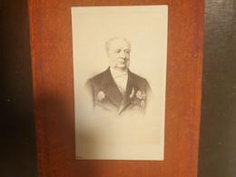 CDV Ancienne Fin XIX Début XXeme. Portrait D Un Homme Distingué. PHOTOGRAPHE ÉTIENNE DAVID À PARIS - Alte (vor 1900)