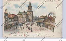 HALT GEGEN LICHT / Hold To Light, Neujahr 1901 - Tegenlichtkaarten, Hold To Light