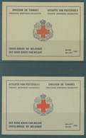 BELGIUM - 1953 - MNH/***- LUXE - 2 REDCROSS BLOOKLETS FR + NL - COB 914A-914B - Lot 22928 - QUOTE 320 EUR - Nuovi