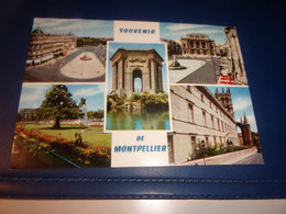 CPA CPSM HERAULT MONTPELLIER SOUVENIRS - Montpellier