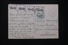 FRANCE - Taxes De Vitry / Seine Sur Carte Postale De Cagnes En 1983 - L 80457 - Lettres Taxées