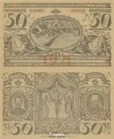 Oberammergau Notgeld: 992 Notgeldschein Der Gemeinde Oberammergau Bankfrisch 1921 50 Pfennig Oberammergau - Andere