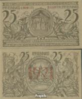 Oberammergau Notgeld: 992 Notgeldschein Der Gemeinde Oberammergau Bankfrisch 1921 25 Pfennig Oberammergau - Andere