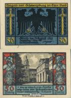 Schwarzburg Notgeld: 1208.2 Notgeldscheine Der Stadt Schwarzburg/Thüringen Bankfrisch 1922 50 Pfennig Bild 4 - Andere
