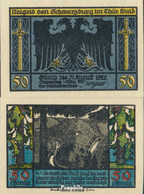 Schwarzburg Notgeld: 1208.2 Notgeldscheine Der Stadt Schwarzburg/Thüringen Bankfrisch 1922 50 Pfennig Bild 1 - Andere