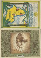 Berlin Notgeld: 88.3 Bild 1 Von Lettow-Vorbeck Notgeld Bankfrisch 1921 75 Pfennig Berlin Dt.-Hanseatisch - Andere