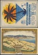 Berlin Notgeld: 88.1 Bild 3 Kiautschau Notgeld Des Dt.-Hanseatischen Kolonialgede Bankfrisch 1921 75 Pfennig Berlin Dt.- - Andere