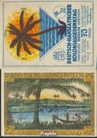 Berlin Notgeld: 88.1 Bild 2 Deutsche Südseeinseln Notgeld Des Dt.-H Bankfrisch 1921 75 Pfennig Berlin Dt.-Hanseatisch - Andere