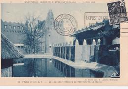 Exposition Coloniale Internationale  PARIS  1931  Le Lac Des Terrasses Du Restaurant - Tentoonstellingen