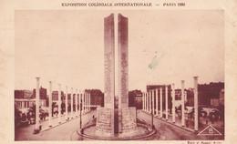 Exposition Coloniale Internationale  PARIS  1931 Porte D' Honneur - Andere