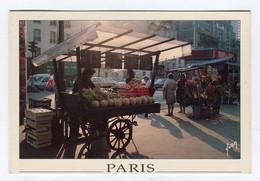 C.P °_ 75-Paris-métiers-Le Marchand De Quatre Saisons-1995 - Straßenhandel Und Kleingewerbe