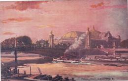 Illustrateur : TUCK Raphael : Oilette : Paris - Pont Alexandre III : N° 14 - Série 702 : - Tuck, Raphael