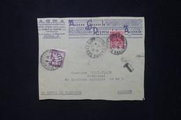 FRANCE - Taxe De St Denis De Gastines Sur Devant D'enveloppe Commerciale De Sablé / Sarthe En 1931 - L 80482 - Lettres Taxées
