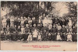 BRIVES SUR CHARENTE-COLONIE DE LA ROCHELLE-VISITE DE Mgr EYSSAUTIER - Other Municipalities