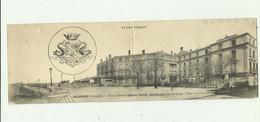 33 - ARCACHON - CP DOUBLE - Place Thiers Grand Hotel Richelieu Sur La Plage Animé Bon état - Arcachon