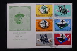 MANAMA - Enveloppe FDC En 1967 - Scoutisme - L 80494 - Manama
