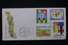 TOGO - Enveloppe FDC En 1983 - Président François Mitterrand - L 80495 - Togo (1960-...)