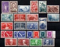 FRANCE Année Complète De 1936 NEUVE** Sauf Le N°321 - ....-1939