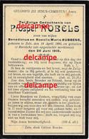 Oorlog Guerre Prosper Nobels Zele Gesneuveld Bombardement D'une Usine De Munitions Bousbecque Wervik Sud FR26 Juni 1918 - Devotieprenten
