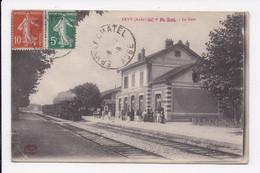 CP 10 ERVY La Gare - Ervy-le-Chatel