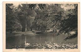 Cpa 37 Tours Jardin Des Prébendes - Tours