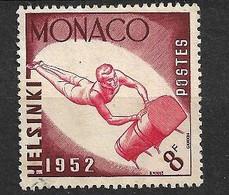 Monaco N°  390 Gymnastique  JO Helsinki   Oblitéré    B/TB   Soldé à Moins De 15 %         Le Moins Cher Du Site ! ! ! - Sommer 1952: Helsinki