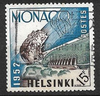 Monaco N°  391  JO Helsinki   Oblitéré    B/TB   Soldé à Moins De 15 %         Le Moins Cher Du Site ! ! ! - Sommer 1952: Helsinki