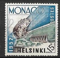 Monaco N°  391  JO Helsinki   Oblitéré    B/TB   Soldé à Moins De 15 %         Le Moins Cher Du Site ! ! ! - Used Stamps