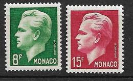 Monaco N°  346 Et  348  Neufs *     B/TB   Soldé à Moins De 15 %         Le Moins Cher Du Site ! ! ! - Unused Stamps