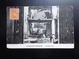 Antwerpen - Berchem: Vredestraat (in Puin) -> Beschreven - Antwerpen