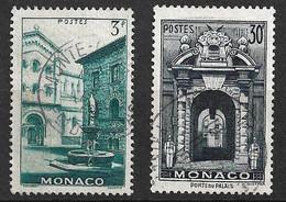 Monaco N°  369  Et  370  Oblitérés    B/TB   Soldé à Moins De 15 %         Le Moins Cher Du Site ! ! ! - Used Stamps