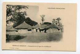 SENEGAL SOUDAN H Danel Kayes - Campement Sur Ligne De Ravitaillements Cases En Chaume  Paille 1910       /D21-2018 - Non Classificati