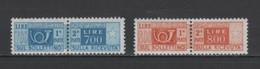 (S1543) ITALY, 1966 (Parcel Post Stamps). Complete Set. Mi # P102-103. MNH** - Postal Parcels