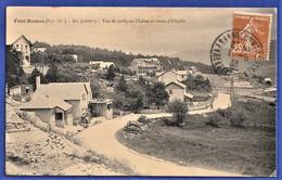 CPA 66 FONT ROMEU (Pyr.-Or.) - Alt 1800m - Vue De Quelques Chalets Et Route D'Odeillo - Andere Gemeenten