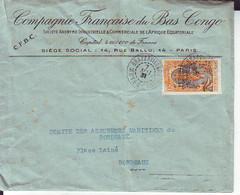 Lettre De Brazzaville Pour Bordeaux 1931 - Non Classificati
