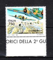 Italia   -  1995. Aerei E Paracadutisti. War Planes And Paratroopers.  MNH - Militaria