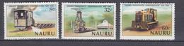 Nauru 1980 Transport Trains Locomotives MNH(**) Mi 211-213 #26595 - Trains